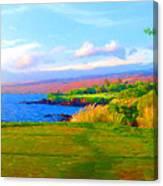 3rd Across The Bay At Mauna Kea Canvas Print