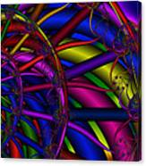 3x1 Abstract 912 Canvas Print