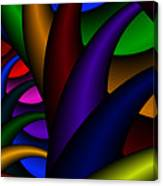 3x1 Abstract 915 Canvas Print