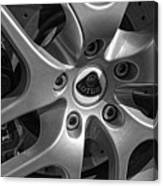 2011 Lotus Euora Wheel Emblem Canvas Print