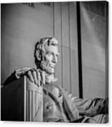 Abraham Lincoln Memorial In Washington Dc Usa Canvas Print