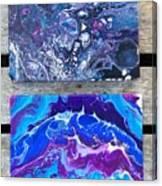 Acrylic Pouring Canvas Print