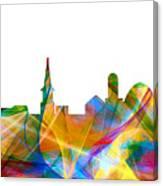 Alexandria Virginia Skyline Canvas Print