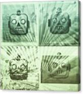 4 Angry Robots Canvas Print