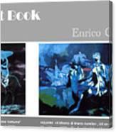 Art Book Canvas Print