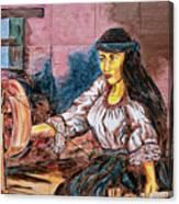 Artisan Market In Quito Canvas Print