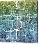 Atlanta Georgia City Map Canvas Print