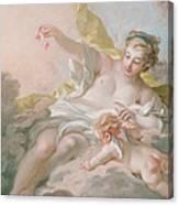 Aurora And Cephalus Canvas Print