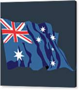 Australia Flag Canvas Print