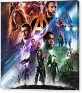 Avengers Infinity War Canvas Print