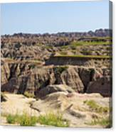 Badlands National Park South Dakota Canvas Print