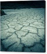 Badwater Basin Death Valley Salt Formations Canvas Print