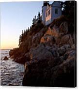 Bass Harbor Head Lighthouse Acadia National Park Canvas Print
