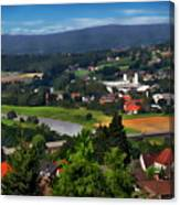 Bavarian Landscape Canvas Print