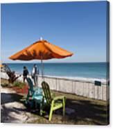 Beachland Boulevard At Vero Beach In Florida Canvas Print