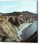 Bixby Creek Bridge Big Sur Photo By Pat Hathaway Canvas Print