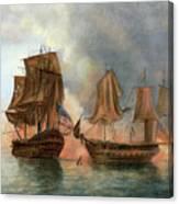 Bonhomme Richard, 1779 Canvas Print
