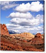 Capitol Reef National Park Burr Trail Canvas Print