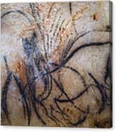 Cave Art: Mammoth Canvas Print