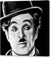Charlie Chaplin Collection Canvas Print
