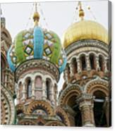 Church Of The Savior On Spilled Blood  Canvas Print