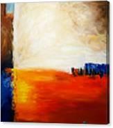 4 Corners Landscape Canvas Print