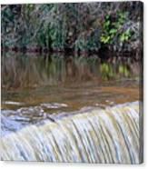 Cramond Waterfall Canvas Print