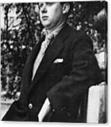 Dylan Thomas (1914-1953) Canvas Print