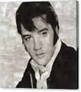 Elvis Presley, Legend  Canvas Print