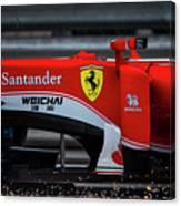 Ferrari Formula 1 Kimi Raikkonen Canvas Print