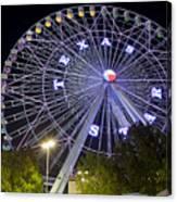 Ferris Wheel At The Texas State Fair In Dallas Tx Canvas Print