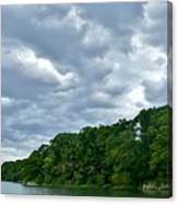 Green's Hill And The Bass River Canvas Print