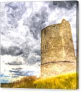Hadleigh Castle Art Canvas Print