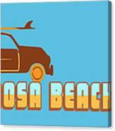 Hermosa Beach. Canvas Print