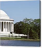 Jefferson Memorial, Washington Dc Canvas Print