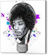Jimi Hendrix Electric Canvas Print