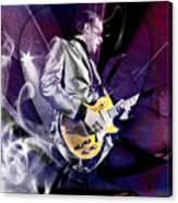 Joe Bonamassa Blues Guitarist Art Canvas Print