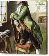 Johann Goethe, 1749-1832 Canvas Print