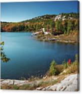 Killarney Provincial Park In Fall Canvas Print