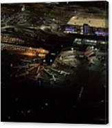 Laguardia Airport Aerial View Canvas Print