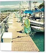 Lahaina Harbor Maui Hawaii Canvas Print