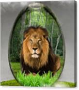 Lion Art Canvas Print