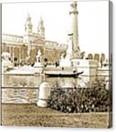 Louisiana Monument, 1904 World's Fair Canvas Print