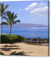 Makena, Secret Beach Canvas Print