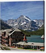 Many Glacier Hotel Canvas Print