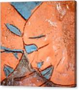 Mask - Tile Canvas Print