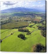 Maui Aerial Canvas Print