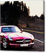 Mercedes Canvas Print