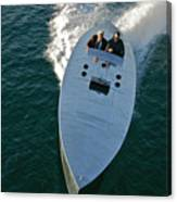 Mercury Race Boat Canvas Print