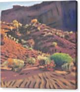 Mesa Shadows Canvas Print